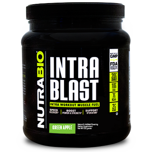 NutraBio Intra Blast bottle