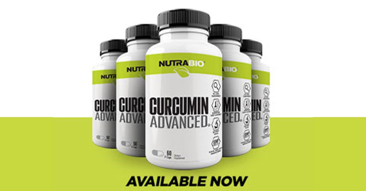 NutraBio Curcumin Advanced Launched