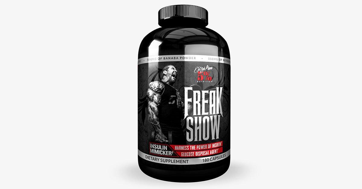 5% Nutrition Freak Show Review