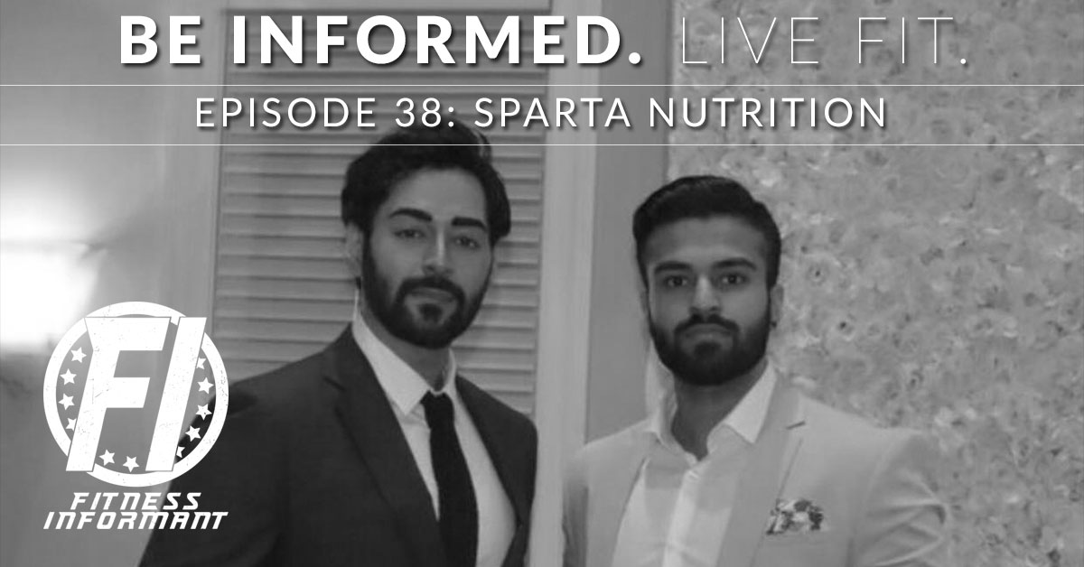 Sparta Nutrition Podcast