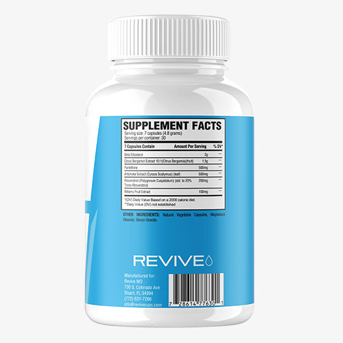 Revive MD Lipid Label
