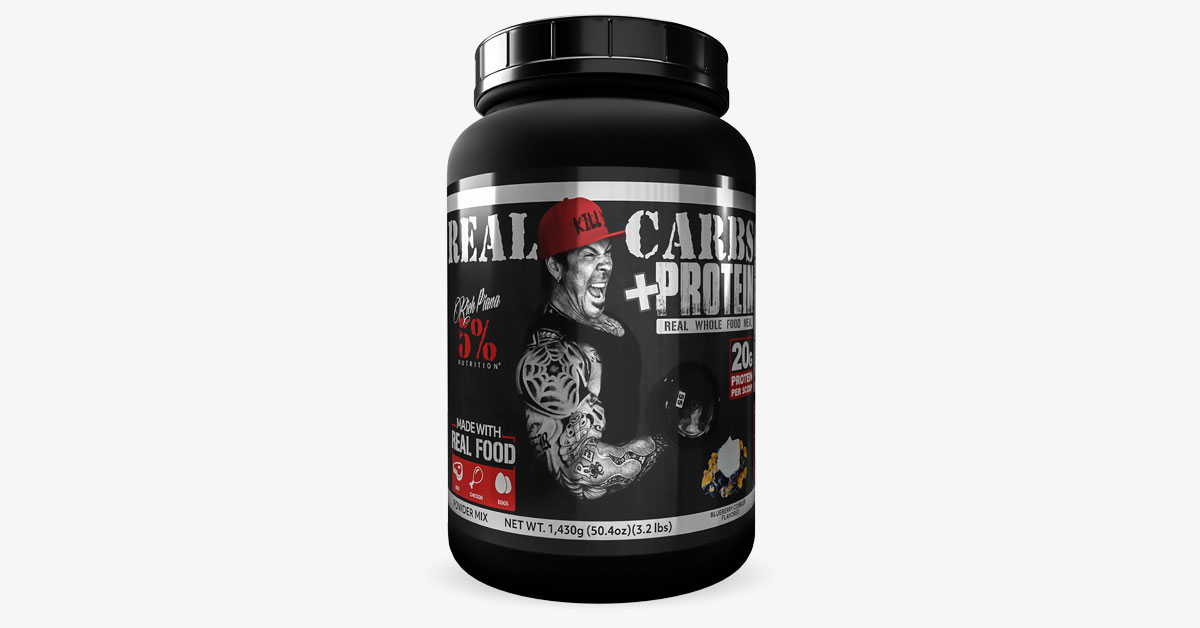 5% Nutrition Real Carbs+Protein Review